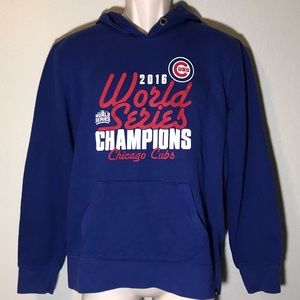 Cubs 2016 World Series men's hoodie